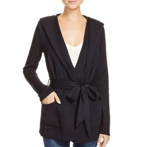Soft Joie Belted Black Sweater XS